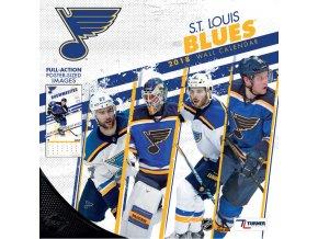 Kalendář St. Louis Blues 2018 Team Wall