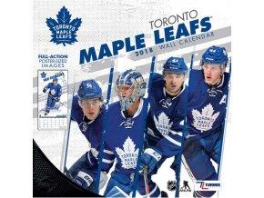 Kalendář Toronto Maple Leafs 2018 Team Wall