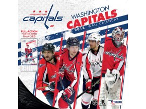 Kalendář Washington Capitals 2018 Team Wall