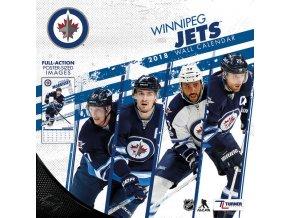 Kalendář Winnipeg Jets 2018 Team Wall