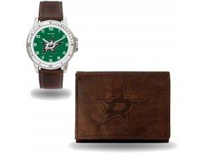Set hodinky a peněženka  Dallas Stars NHL Sparo