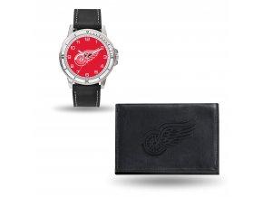 Set hodinky a peněženka  Detroit Red Wings NHL Sparo