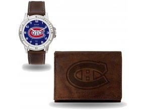 Set hodinky a peněženka  Montreal Canadiens NHL Sparo