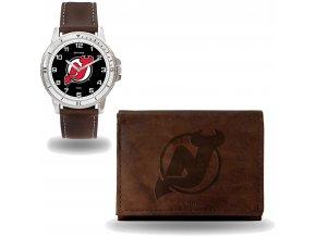 Set hodinky a peněženka  New Jersey Devils NHL Sparo