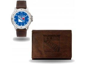 Set hodinky a peněženka  New York Rangers NHL Sparo