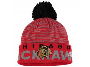 Dětská zimní čepice  Chicago Blackhawks NHL Team Logo Cuffed