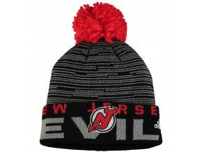 Dětská zimní čepice  New Jersey Devils NHL Team Logo Cuffed