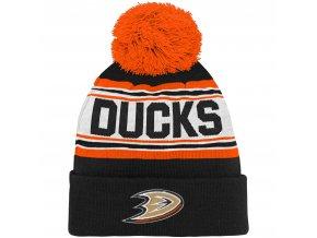 Dětská zimní čepice Anaheim Ducks NHL Wordmark Cuffed
