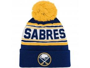Dětská zimní čepice  Buffalo Sabres NHL Wordmark Cuffed