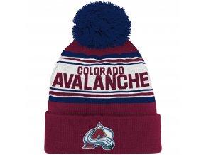 Dětská zimní čepice  Colorado Avalanche NHL Wordmark Cuffed