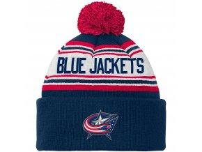 Dětská zimní čepice  Columbus Blue Jackets NHL Wordmark Cuffed
