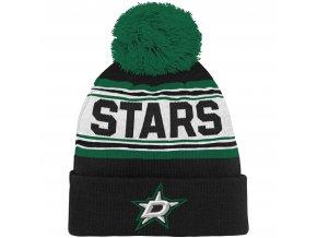 Dětská zimní čepice  Dallas Stars NHL Wordmark Cuffed