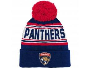 Dětská zimní čepice  Florida Panthers NHL Wordmark Cuffed