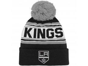 Dětská zimní čepice  Los Angeles Kings NHL Wordmark Cuffed