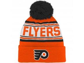Dětská zimní čepice  Philadelphia Flyers NHL Wordmark Cuffed