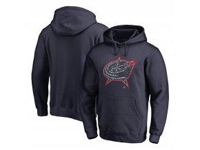 Mikina  Columbus Blue Jackets NHL Static Logo