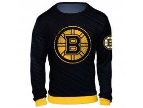 Mikina  Boston Bruins NHL Static Rain