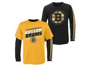 Set dětských triček  Boston Bruins NHL First Line