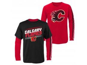 Set dětských triček  Calgary Flames NHL First Line