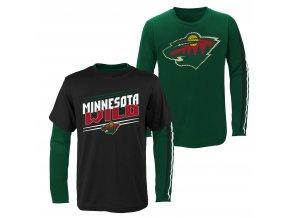 Set dětských triček  Minnesota Wild NHL First Line