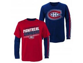 Set dětských triček  Montreal Canadiens NHL First Line