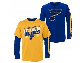 Set dětských triček  St. Louis Blues NHL First Line