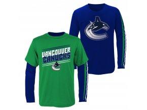 Set dětských triček  Vancouver Canucks NHL First Line