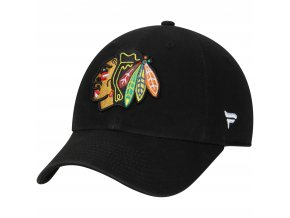 Dětská kšiltovka  Chicago Blackhawks NHL Fundamental Adjustable