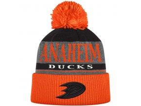 Kulich Anaheim Ducks Cuffed Knit Hat With Pom