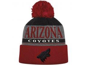 Kulich Arizona Coyotes Cuffed Knit Hat With Pom