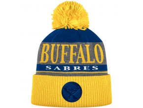 Kulich Buffalo Sabres Cuffed Knit Hat With Pom