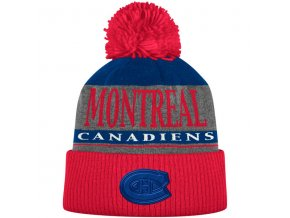 Kulich Montreal Canadiens Cuffed Knit Hat With Pom