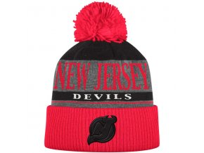 Kulich New Jersey Devils Cuffed Knit Hat With Pom