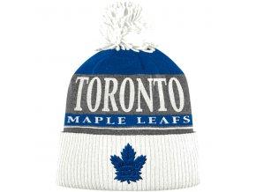 Kulich Toronto Maple Leafs Cuffed Knit Hat With Pom