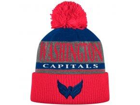 Kulich Washington Capitals Cuffed Knit Hat With Pom