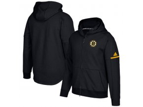 Mikina Boston Bruins Authentic Pro Squad ID Full-Zip Hood
