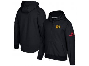 Mikina Chicago Blackhawks Authentic Pro Squad ID Full-Zip Hood