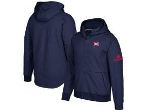 Mikina Montreal Canadiens Authentic Pro Squad ID Full-Zip Hood
