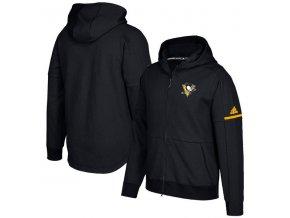 Mikina Pittsburgh Penguins Authentic Pro Squad ID Full-Zip Hood