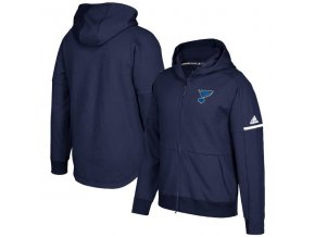 Mikina St. Louis Blues Authentic Pro Squad ID Full-Zip Hood
