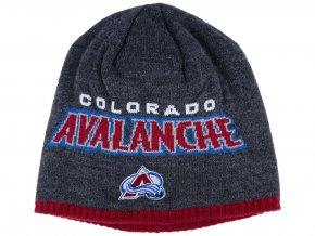 Zimní čepice Colorado Avalanche NHL Heather Beanie
