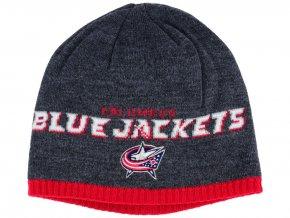 Zimní čepice Columbus Blue Jackets NHL Heather Beanie