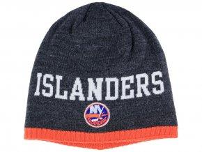Zimní čepice New York Islanders NHL Heather Beanie