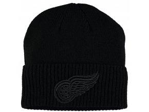Zimní čepice Detroit Red Wings Fanatics Branded Team Haze Cuffed Knit Hat
