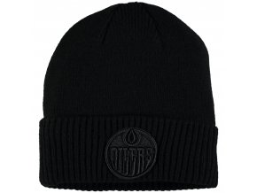 Zimní čepice Edmonton Oilers Fanatics Branded Team Haze Cuffed Knit Hat