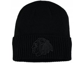 Zimní čepice Chicago Blackhawks Fanatics Branded Team Haze Cuffed Knit Hat