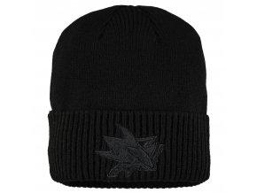 Zimní čepice San Jose Sharks Fanatics Branded Team Haze Cuffed Knit Hat