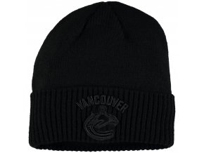 Zimní čepice Vancouver Canucks Fanatics Branded Team Haze Cuffed Knit Hat