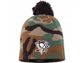Kulich Pittsburgh Penguins Reebok Camo Cuffless Knit Beanie With Pom