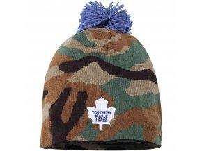 Kulich Toronto Maple Leafs Reebok Camo Cuffless Knit Beanie With Pom
